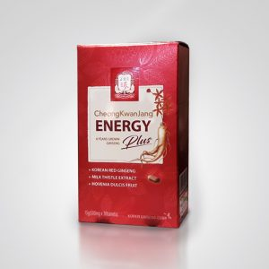 Корейский красный женьшень энергия плюс 30 таблеток