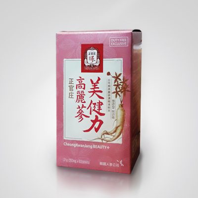 Корейский красный женьшень красота плюс 60 таблеток