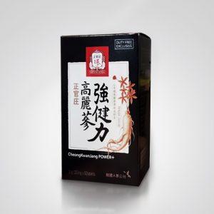 Корейский красный женьшень сила плюс 60 таблеток